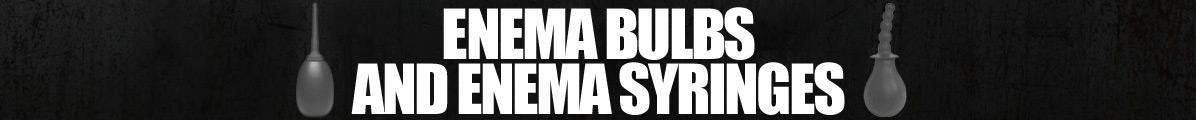 Enema Bulbs and Enema Syringes