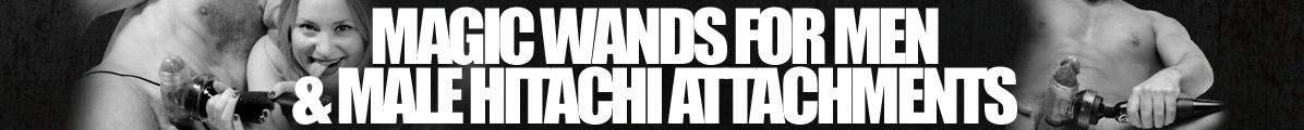Magic Wand & Hitachi Attachments for Men