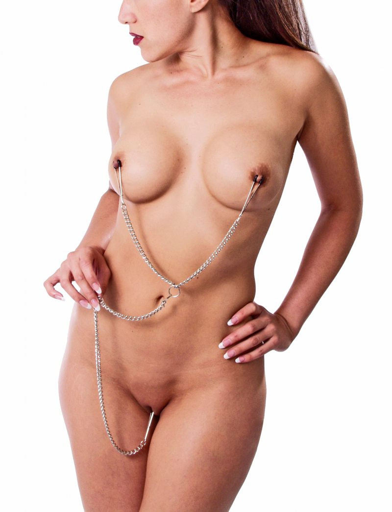 Extreme nipple and clit piercings nude gallery